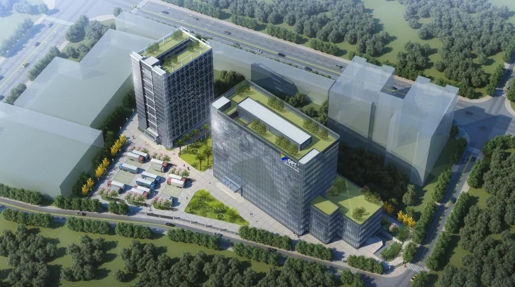 【热烈祝贺】OPT总部工程主体封顶暨苏州子公司项目开工建设